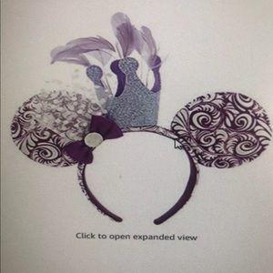 Purple Disney ears